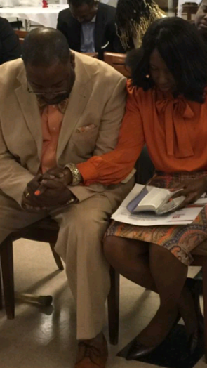 william and carolyn praying