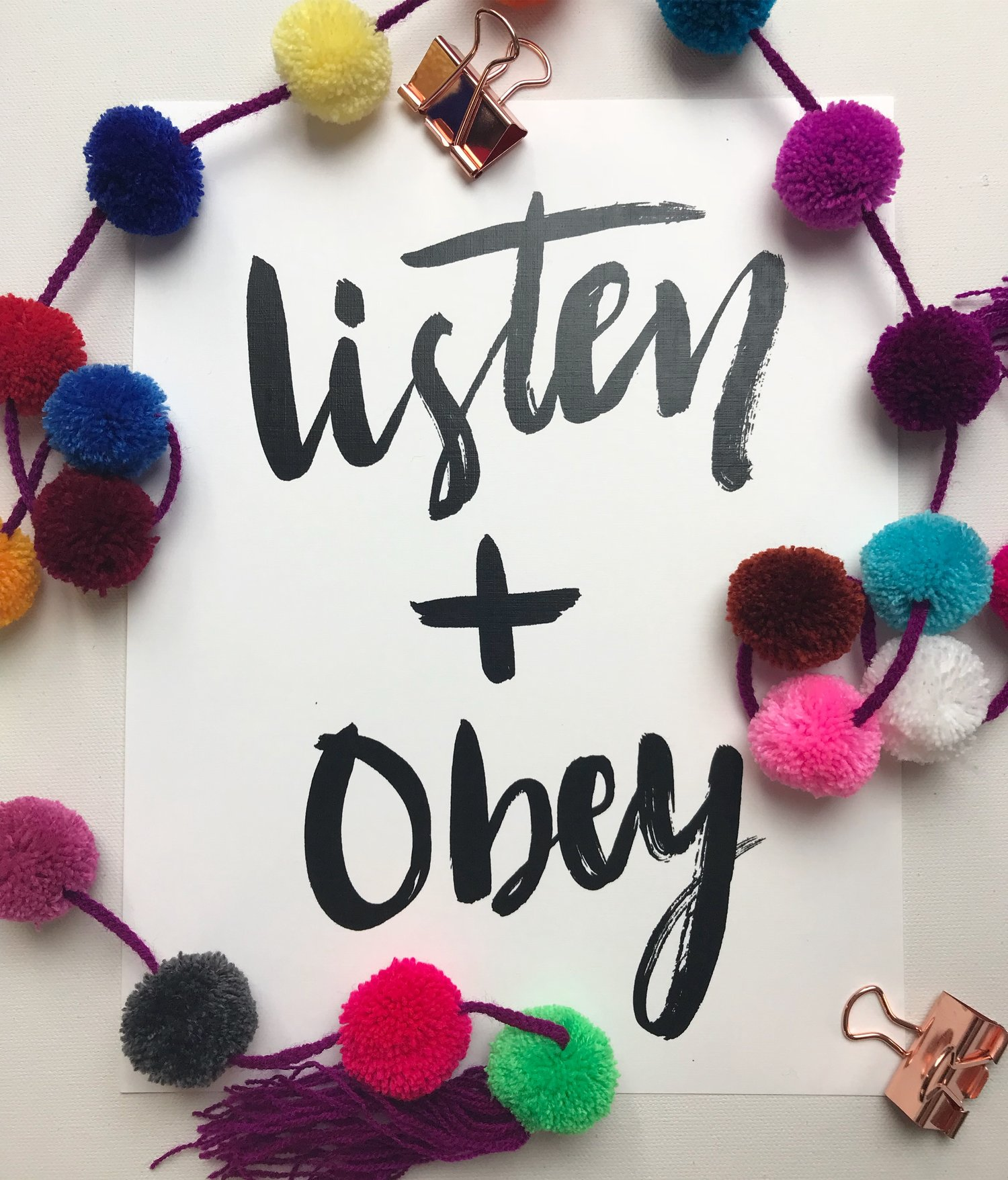 Listen + Obey — Scripturedoodle | Creative Bible Study Resources |  Asheville, NC | Art, Creativity, Worship | Draw Near Retreat